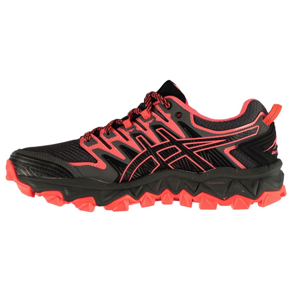 Asics-Gel-Fujitrabuco-Laufschuhe-Damen-Sportschuhe-Turnschuhe-Jogging-6015 Indexbild 5