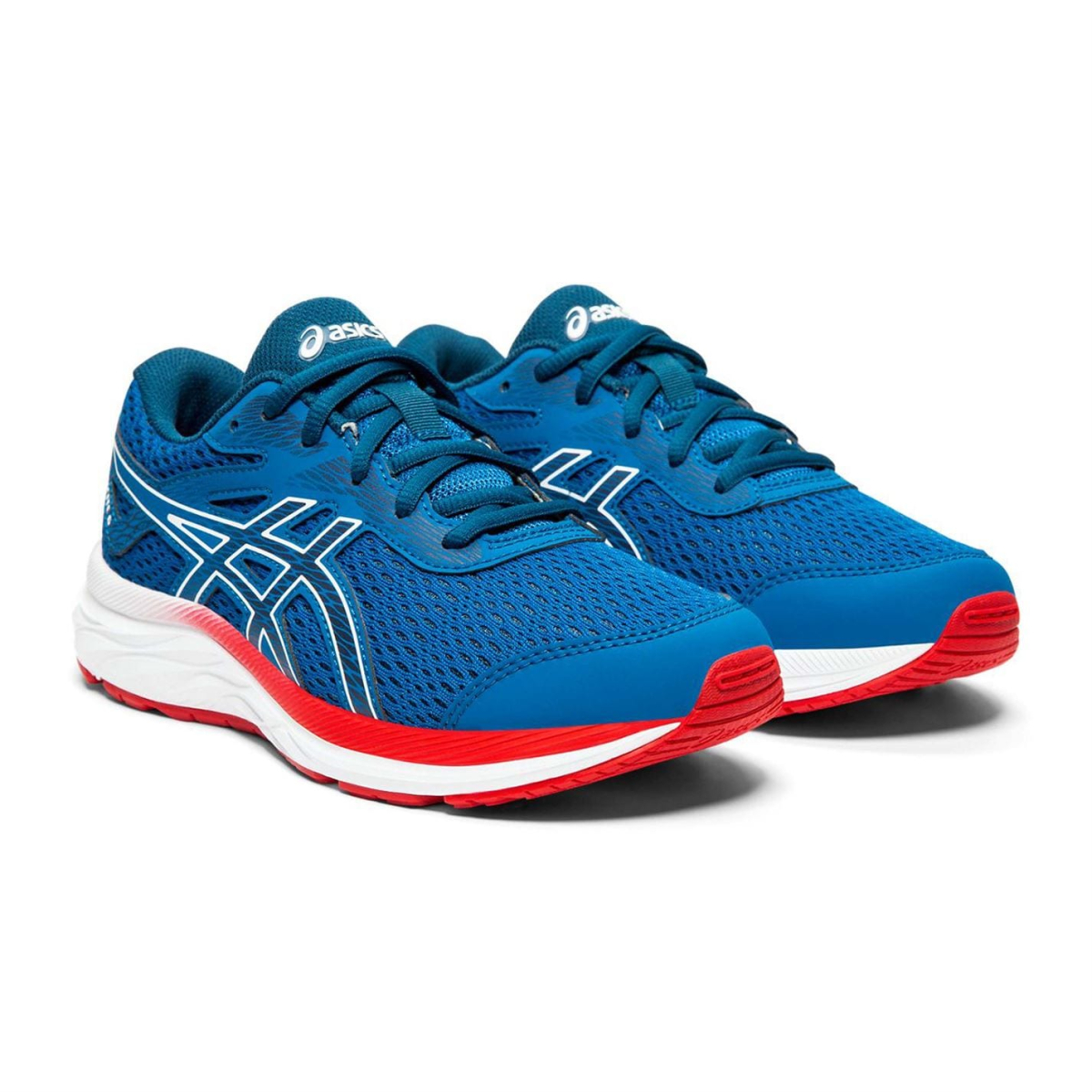 Asics-Gel-Excite-6-Turnschuhe-Laufschuhe-Jungen-Kinder-Sneaker-Sportschuhe-7026 Indexbild 5