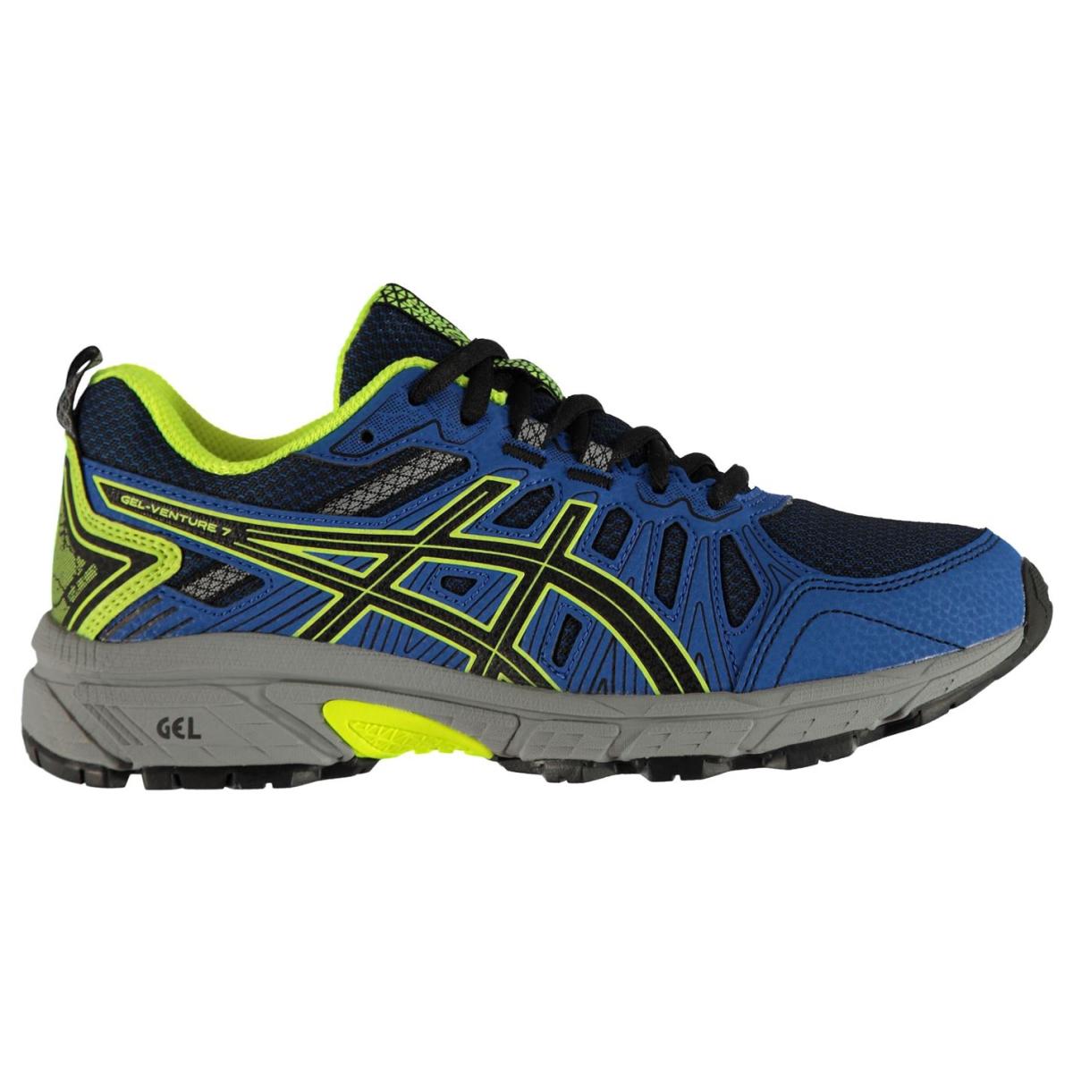 Asics-Gel-Venture-7-Turnschuhe-Laufschuhe-Jungen-Kinder-Sneaker-Sportschuhe-7031 Indexbild 2