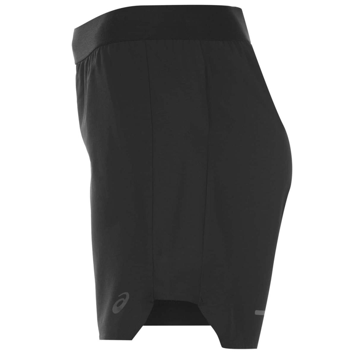 Asics 2 In 1 5 In Kurzhose Shorts Damen Schwarz