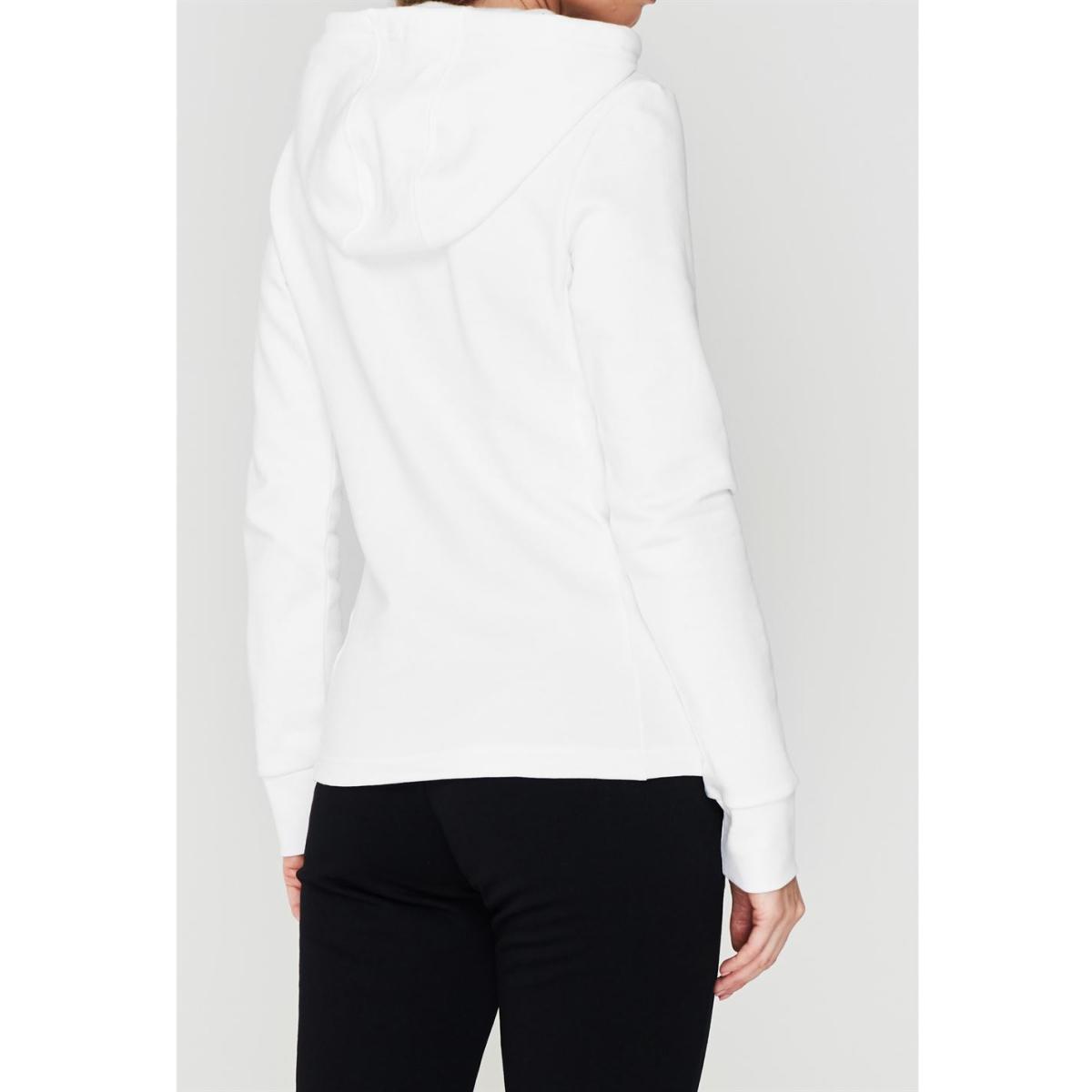 Calvin Klein Performance Logo Kapuzenpullover Kapuzenjacke Damen