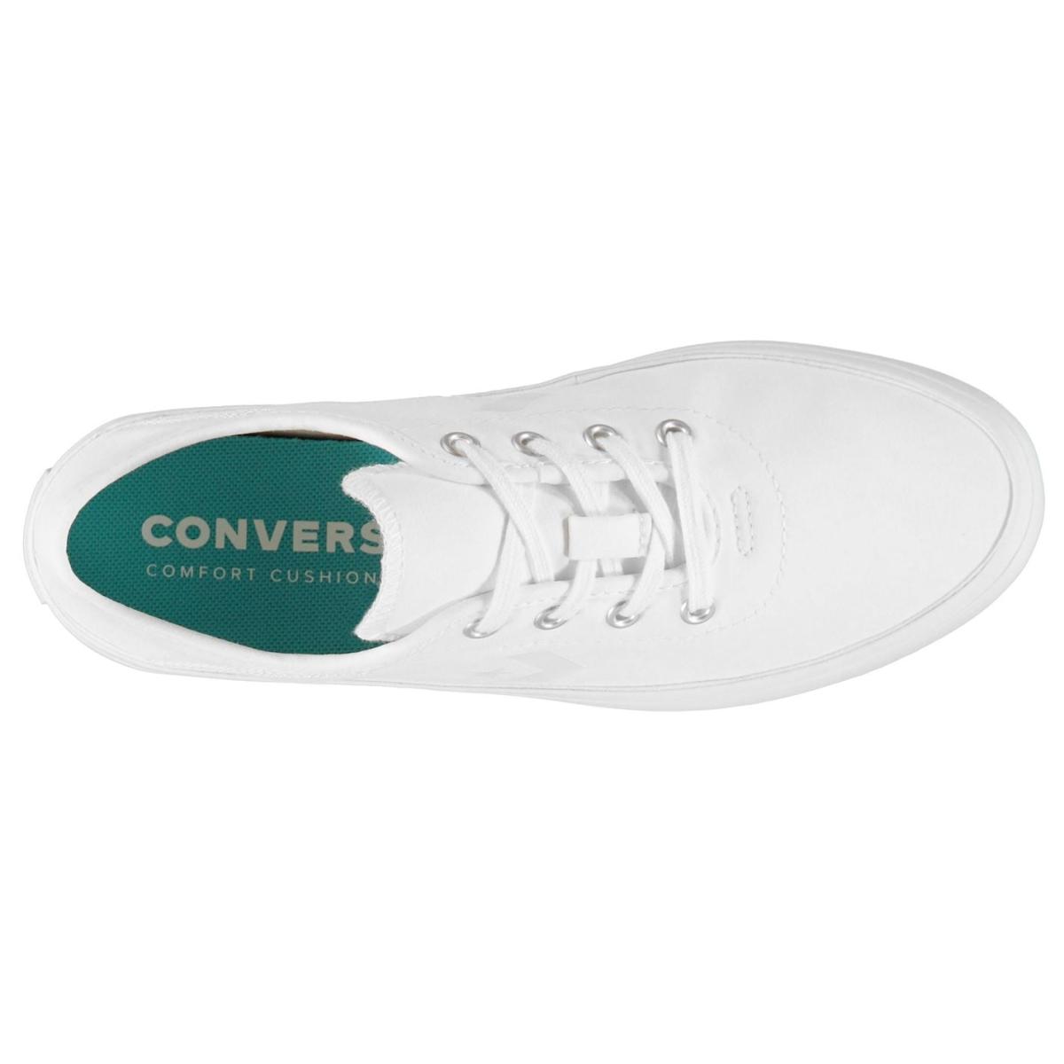 Converse Ox Costa Damen Turnschuhe Sportschuhe Weiß_Weiß