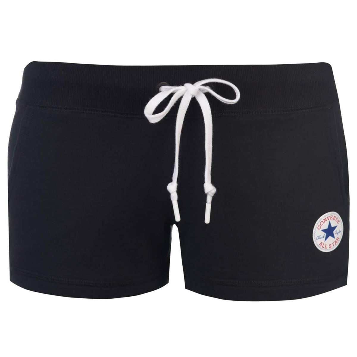 Converse Core Kurzhose Shorts Damen Schwarz