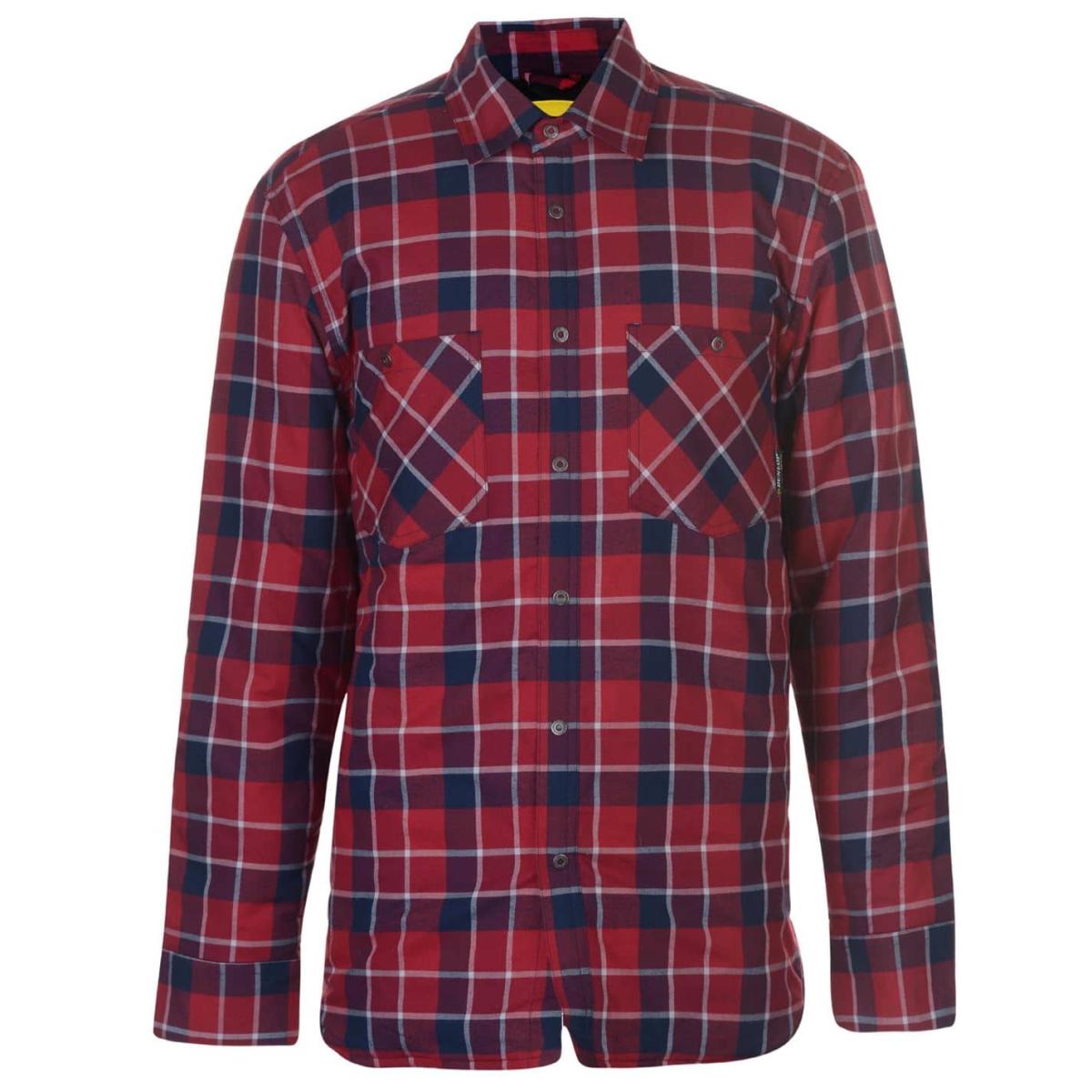 Dunlop Flannel Hemd Shirt Herren