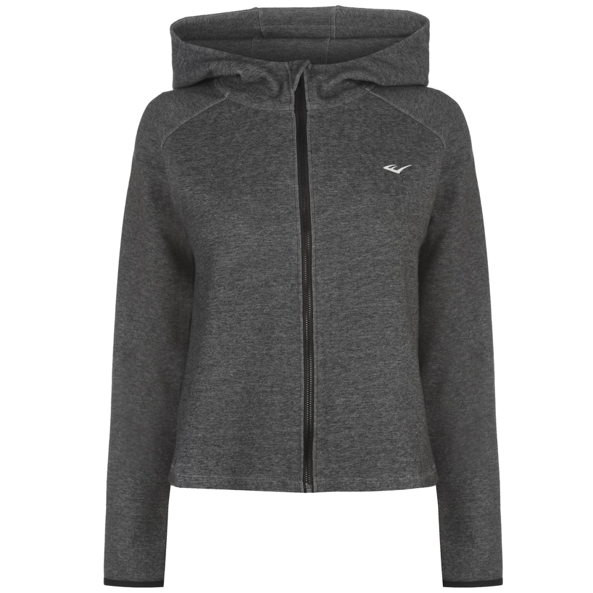 Everlast Open Back Zipped Kapuzenpullover Kapuzenjacke Damen