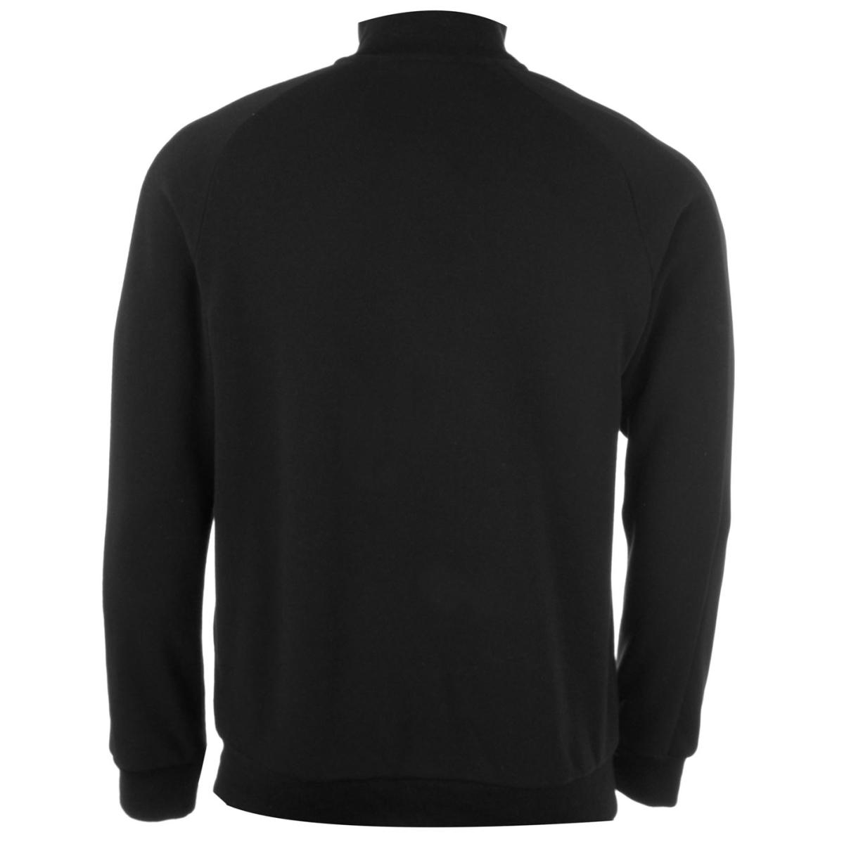 Everlast Premium Zip Sweatshirt Herren Pullover Schwarz