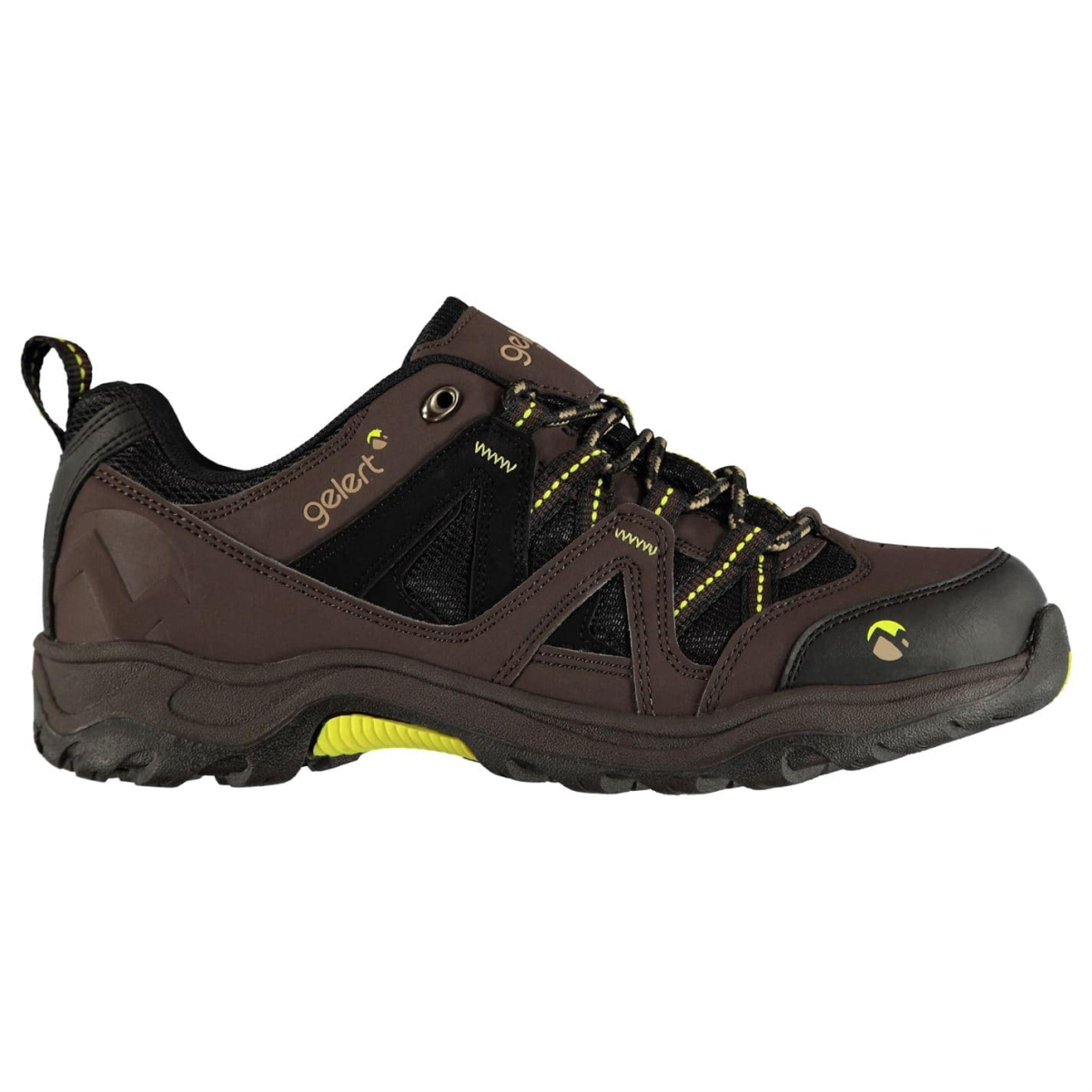 Gelert Ottawa Low Herren Wanderschuhe Brown