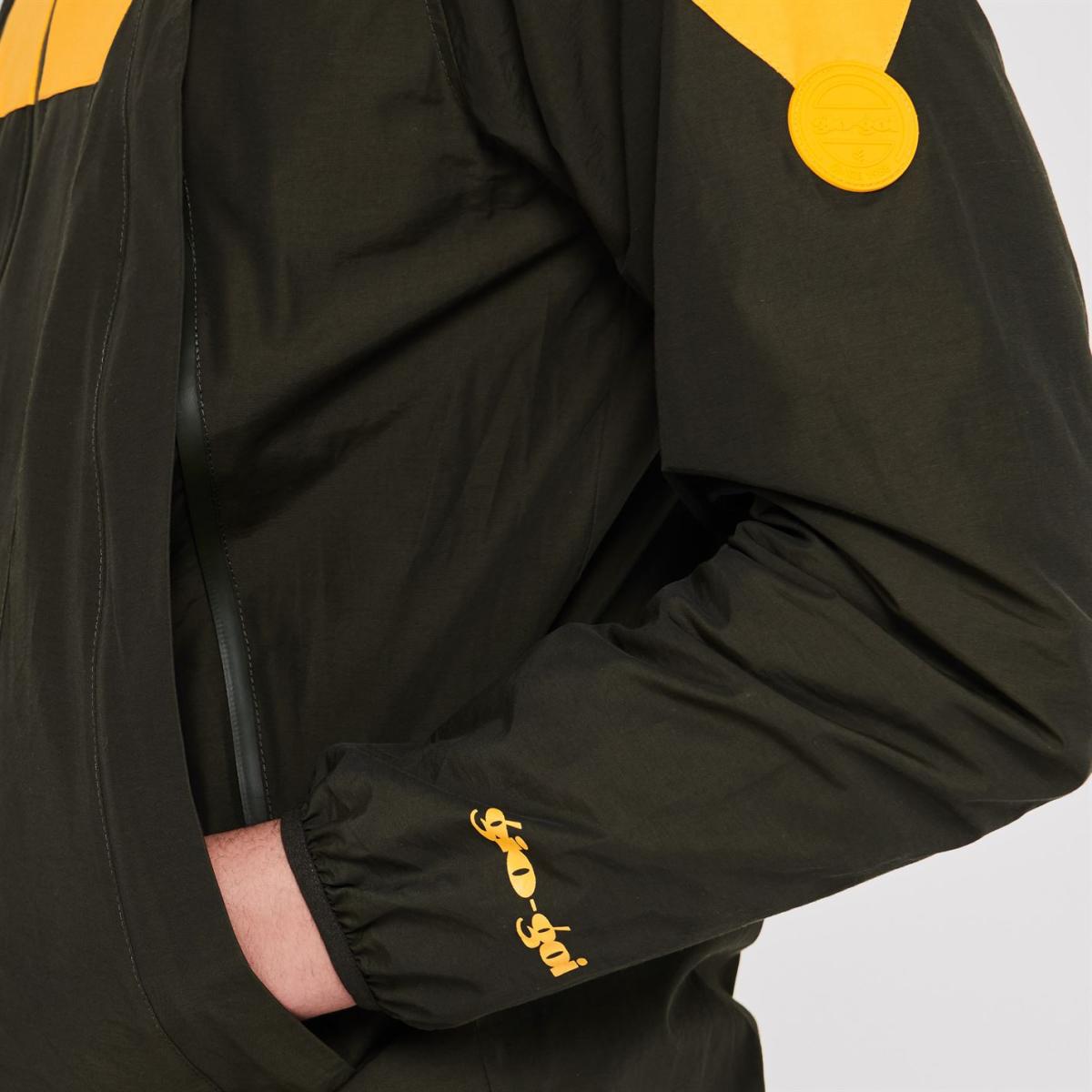 Gio Goi Regenjacke Regenmantel Herren Jacke 9076 Khaki