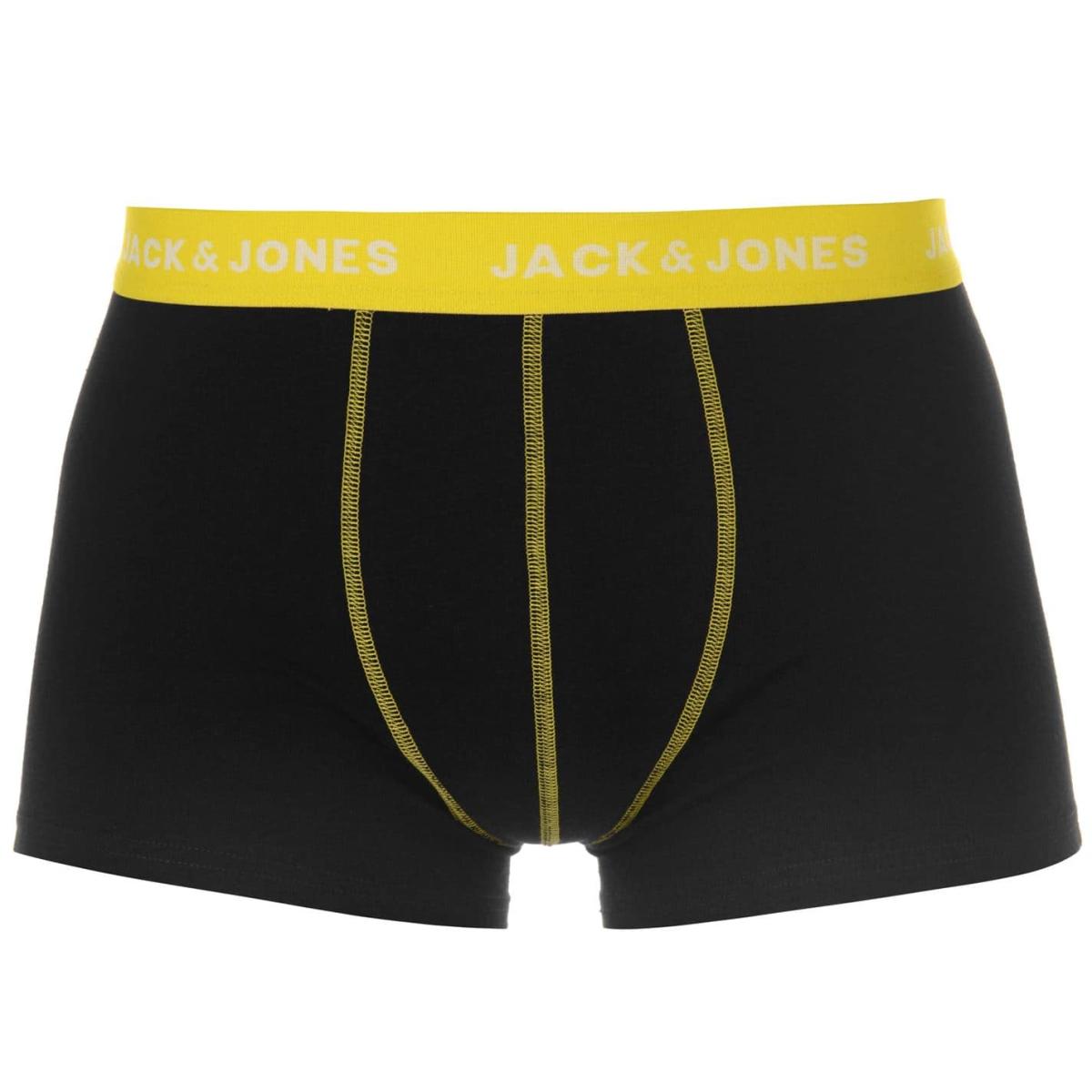 Jack And Jones 3 Stück Solid Trunks Boxershorts Herren