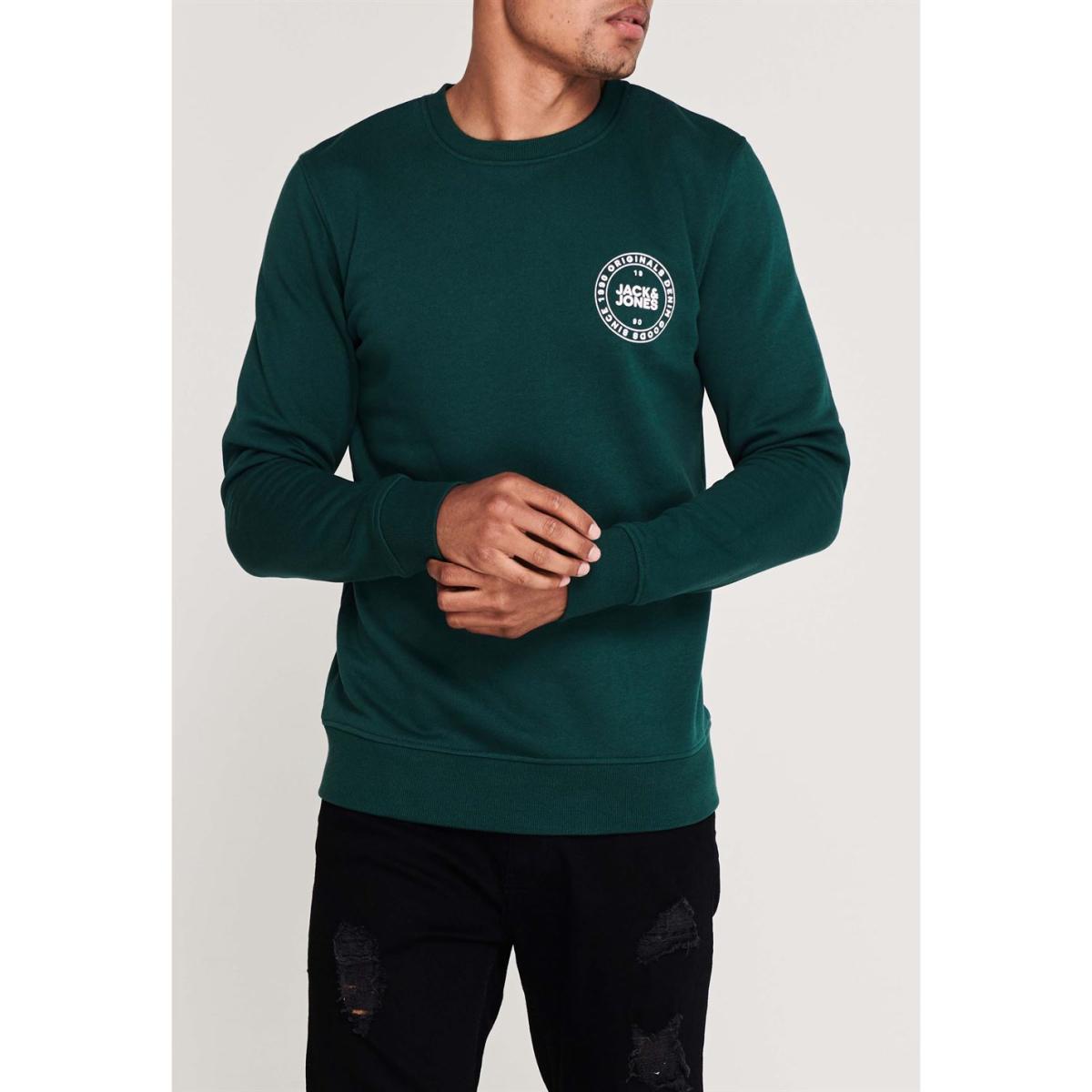 Jack And Jones Sweatshirt Pullover Herren Pulli Jacke Rundhals Sport Sweater 163
