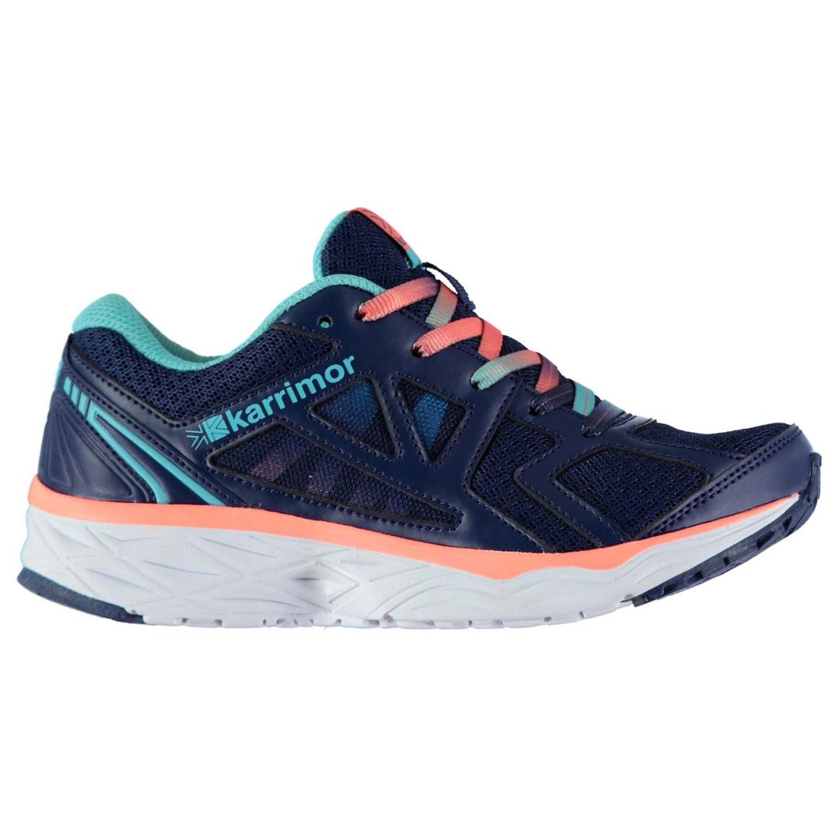 Karrimor Pace Run Laufschuhe Turnschuhe Jungen Blau