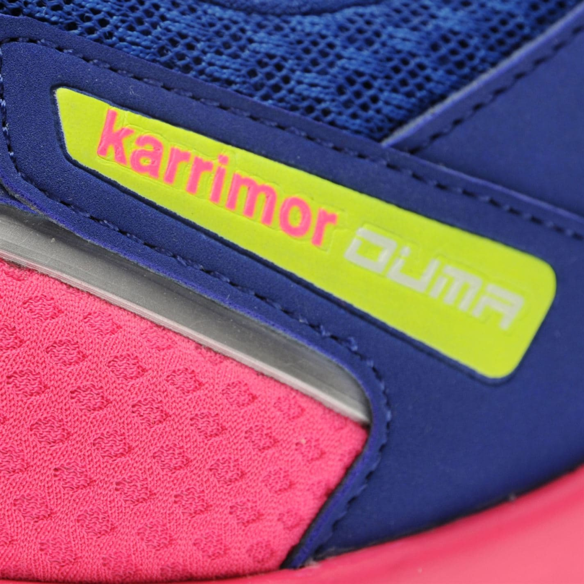 Karrimor Duma Turnschuhe Kinder Mädchen Blau_Pink_Lime