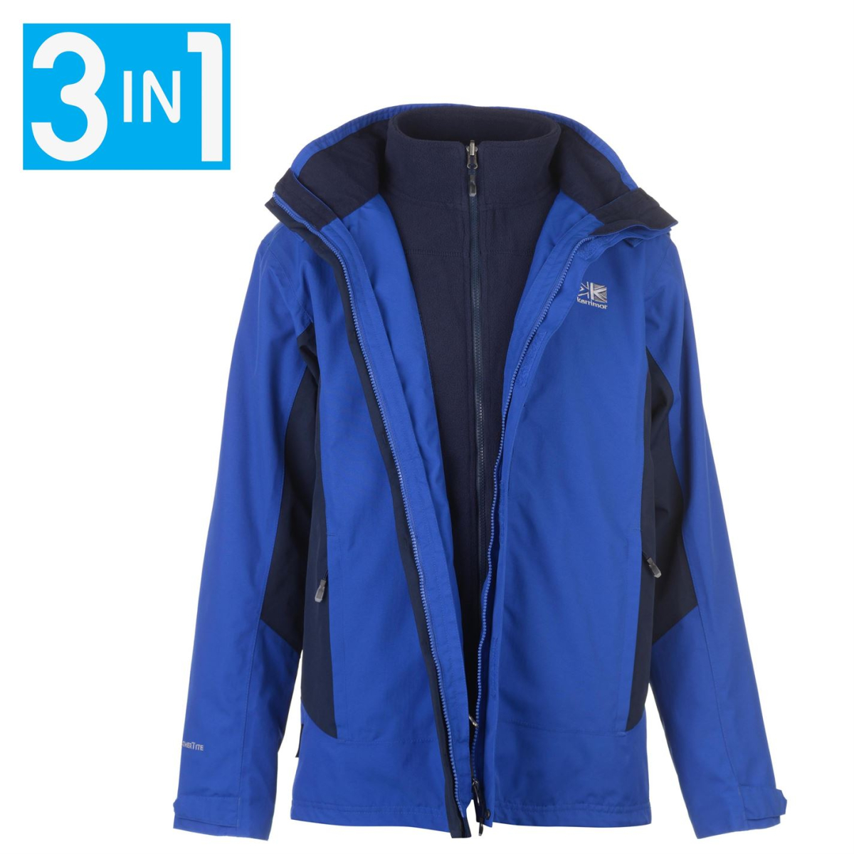 Karrimor 3 In 1 Weathertite Winterjacke Jacke Herren