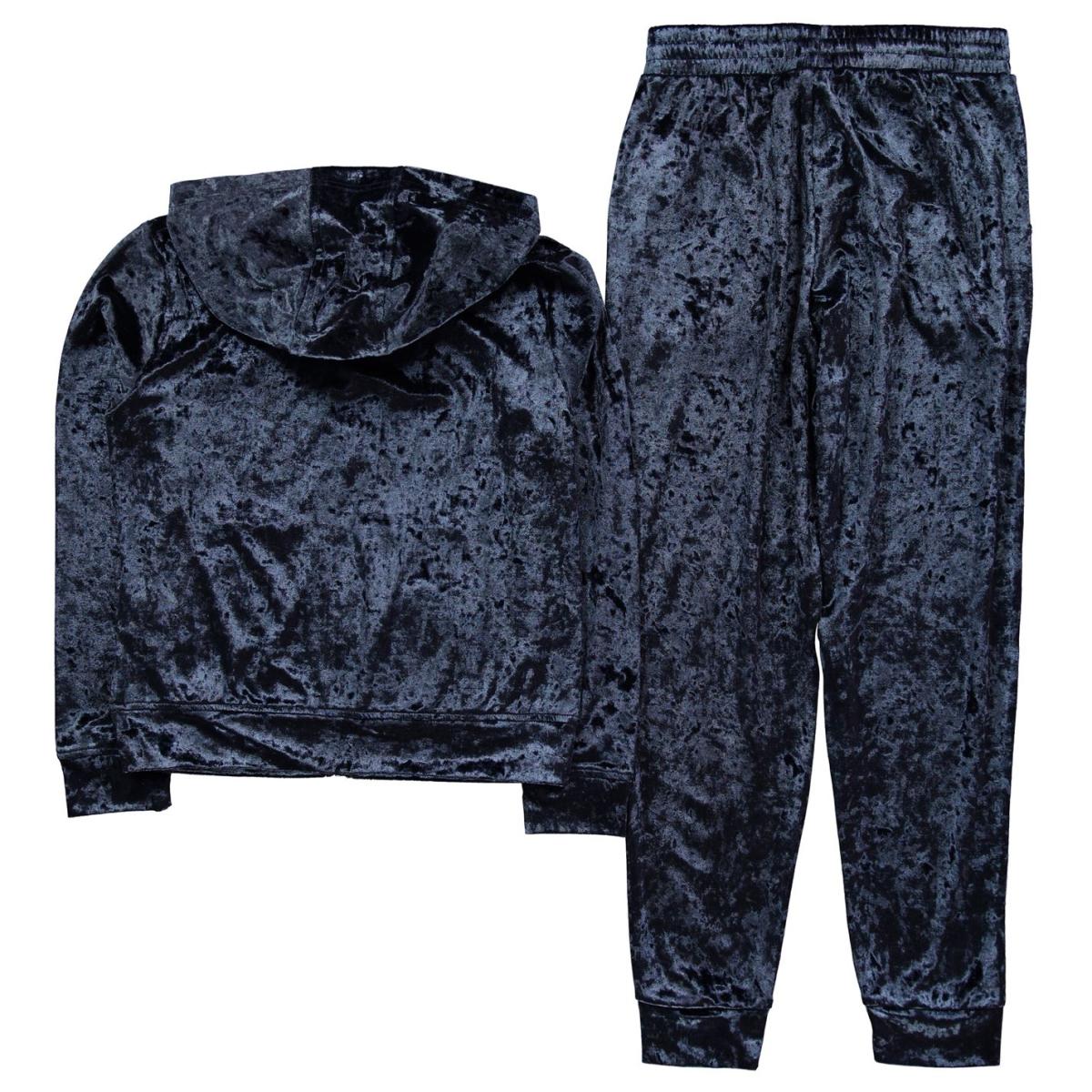 LA Gear Trainingsanzug Sportanzug Kinder Mädchen Velour 0120