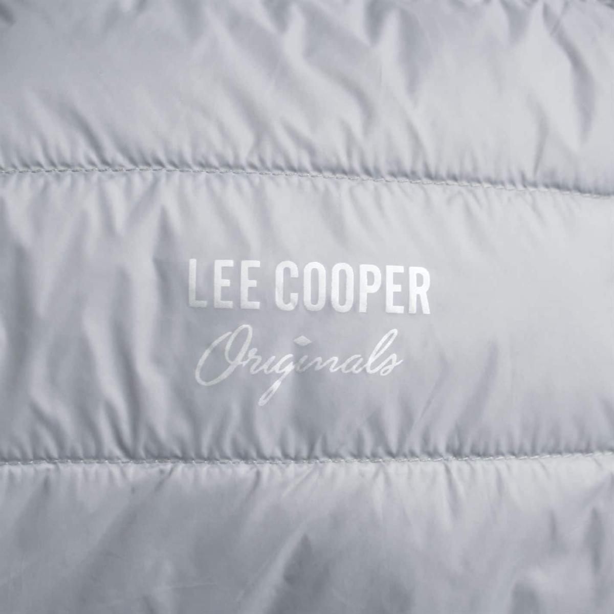 Lee Cooper Xlite Down Winterjacke Jacke Herren Grau