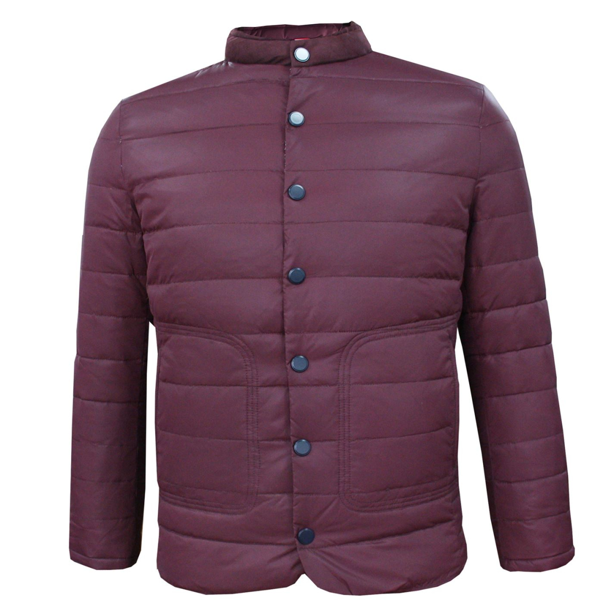 Lee Cooper Essential Down Herbst Jacke Herren Burgundy
