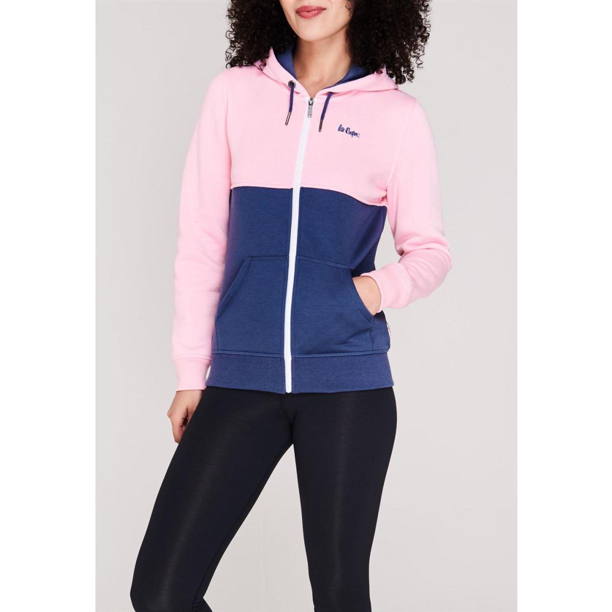 Lee Cooper Kapuzenjacke Jacke Damen Sweatshirt Kapuzenpullover Pullover 8747