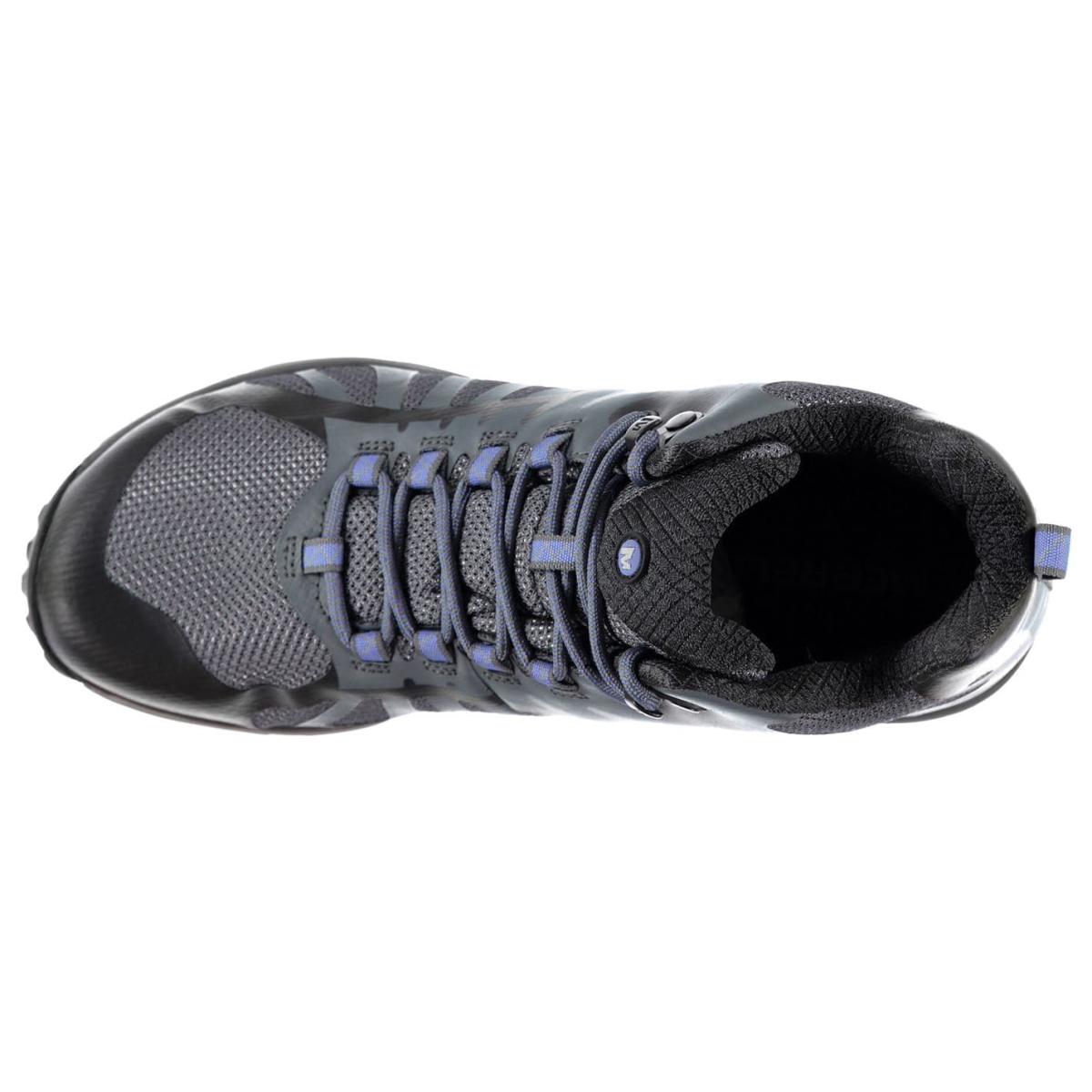 Merrell-Edge-Mid-Turnschuhe-Damen-Sneaker-Sportschuhe-Laufschuhe-9014 Indexbild 4