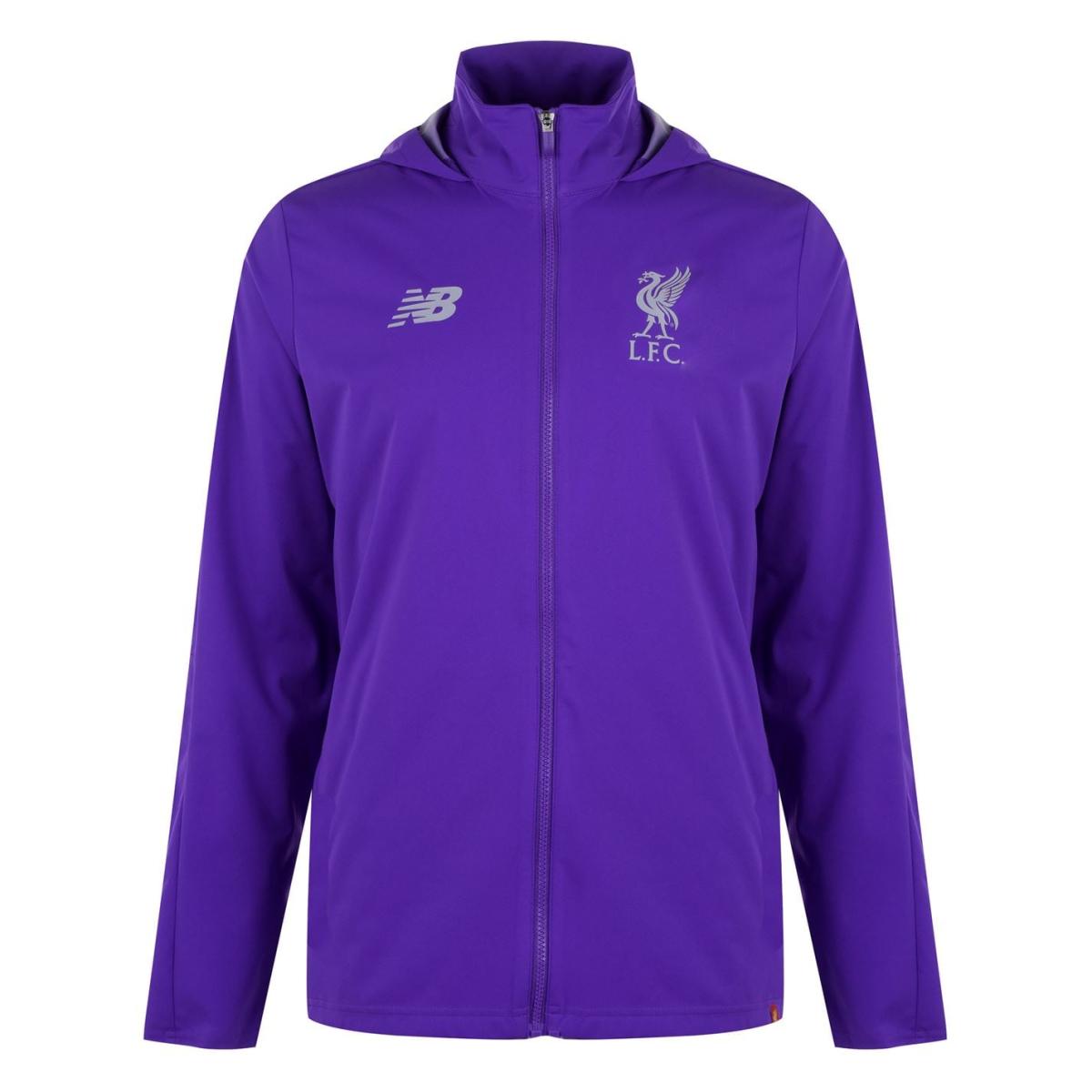New Balance Liverpool Regenjacke Regenmantel Herren Jacke 90789 Purple