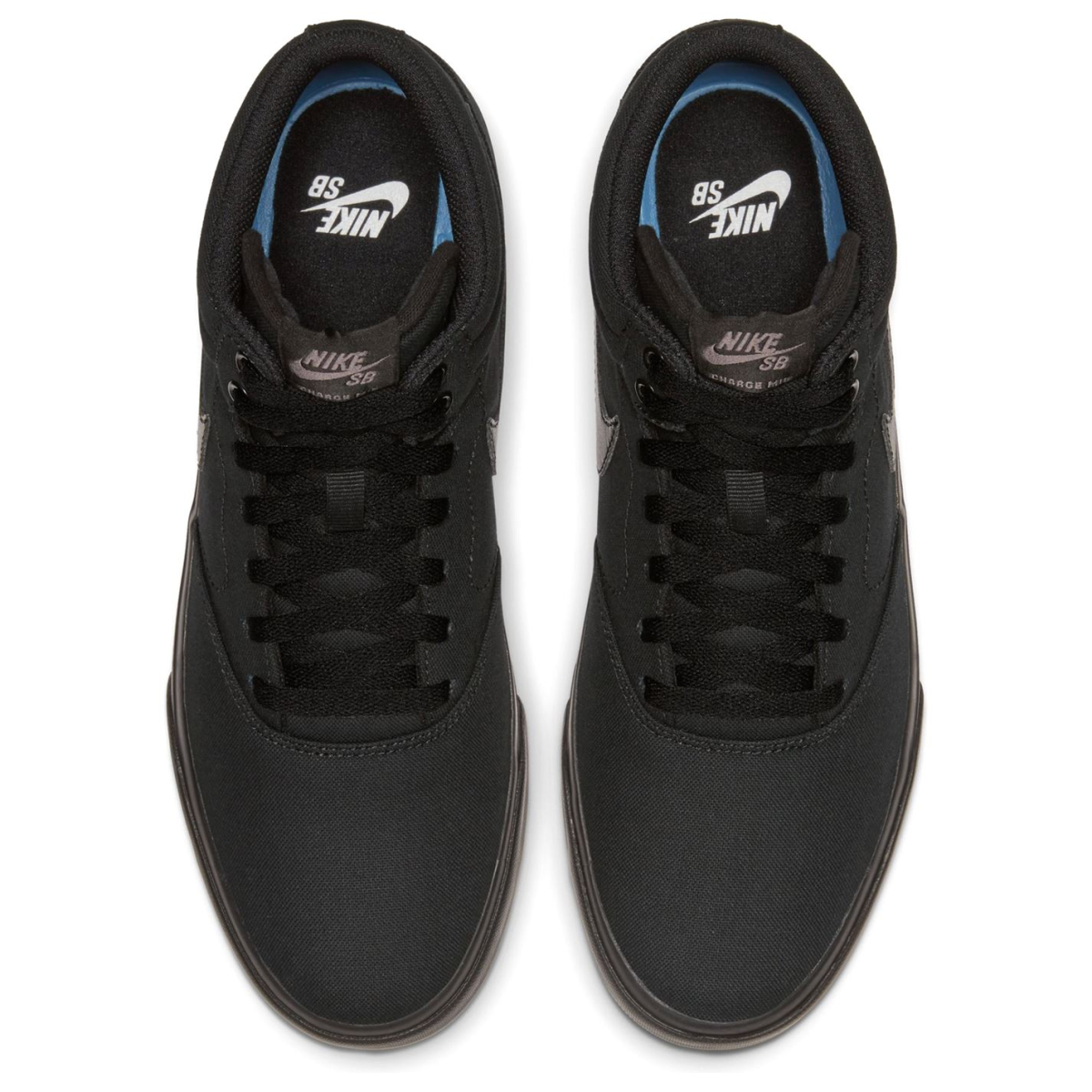 Nike-SB-Lot-Mid-Hommes-Skate-Chaussures-Skater-Chaussures-Chaussures-De-Sport-Toile-2017 miniature 11