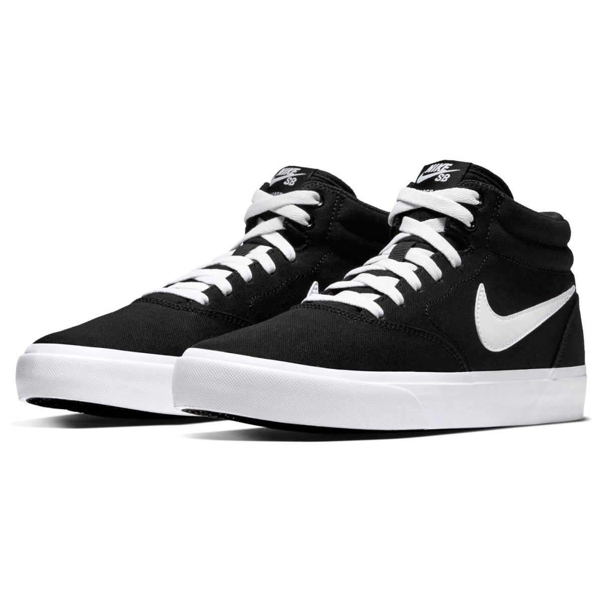 Nike-SB-Lot-Mid-Hommes-Skate-Chaussures-Skater-Chaussures-Chaussures-De-Sport-Toile-2017 miniature 3