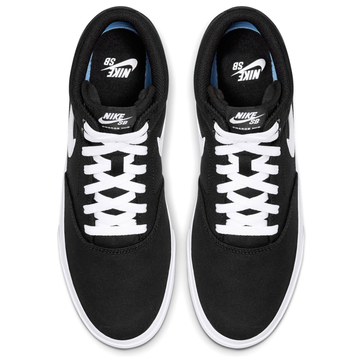 Nike-SB-Lot-Mid-Hommes-Skate-Chaussures-Skater-Chaussures-Chaussures-De-Sport-Toile-2017 miniature 5