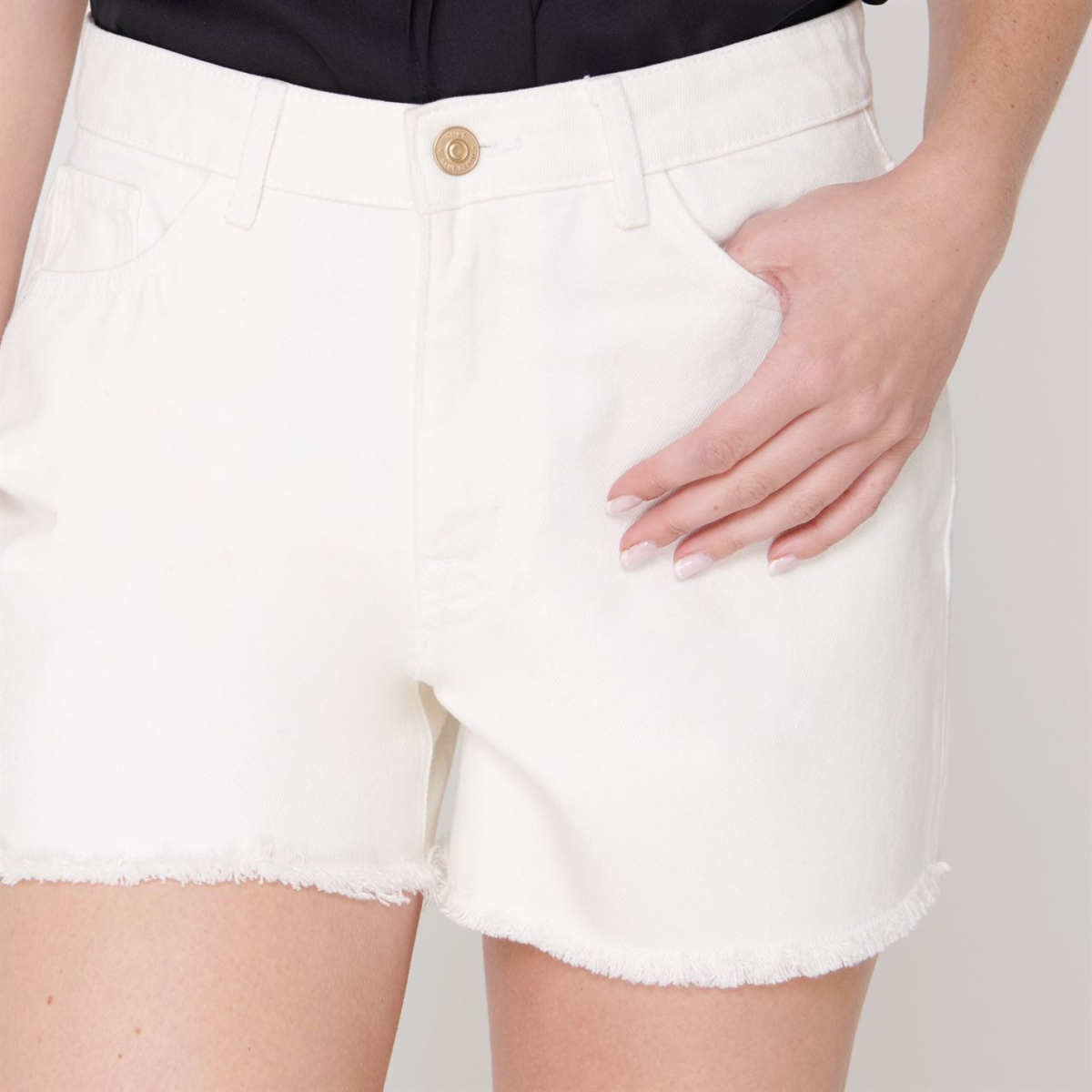 Only-Damen-Kurzhose-Shorts-Damenhose-Sporthose-Bermuda-Sommer-7093 Indexbild 10