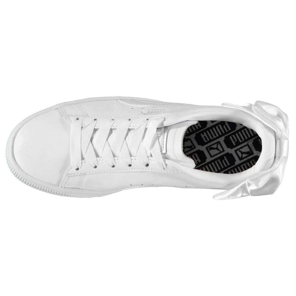 Puma-Basket-Turnschuhe-Damen-Sneaker-Sportschuhe-Laufschuhe-9061 Indexbild 7