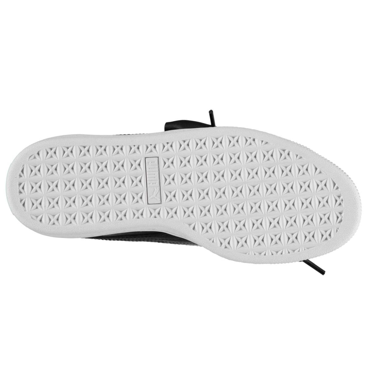 Puma-Basket-Turnschuhe-Damen-Sneaker-Sportschuhe-Laufschuhe-9081 Indexbild 3