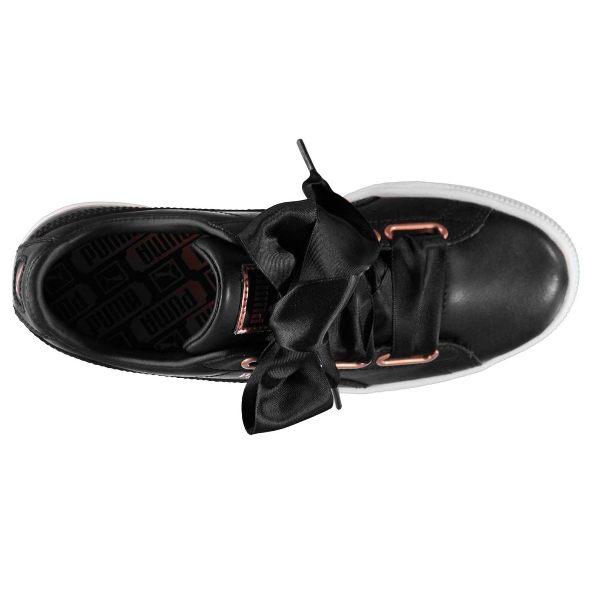 Puma-Basket-Turnschuhe-Damen-Sneaker-Sportschuhe-Laufschuhe-9081 Indexbild 4