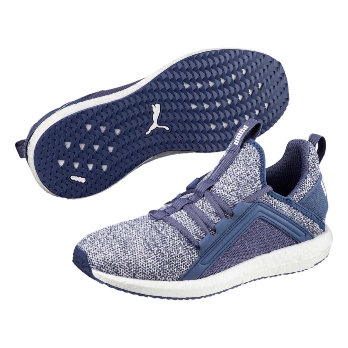 Puma Mega NRGY Knit Turnschuhe Sportschuhe Blau