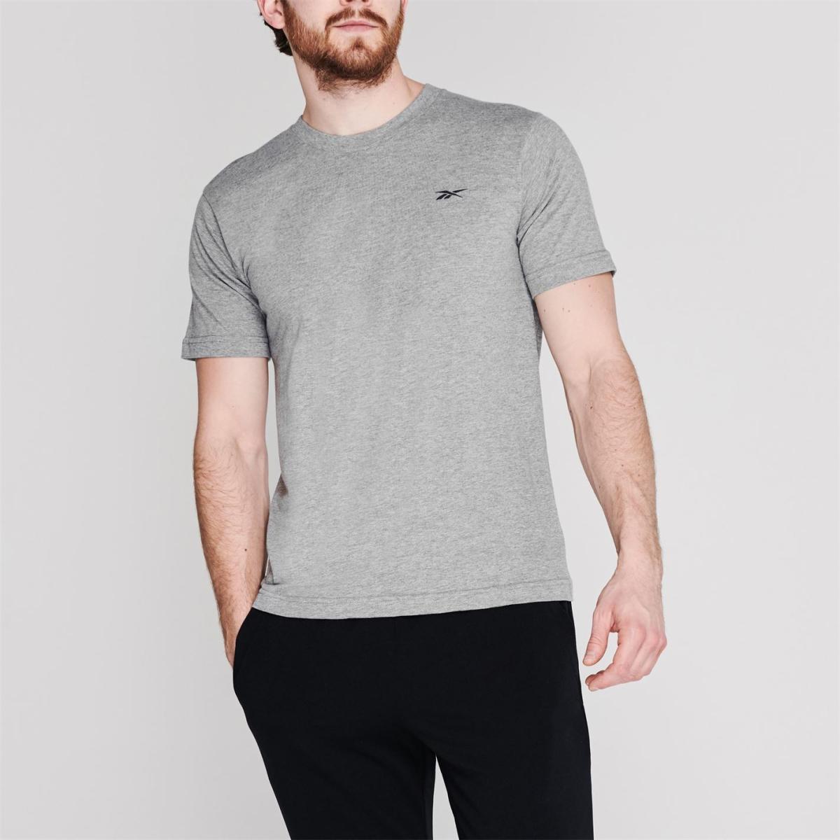 Reebok T-Shirt Herren TShirt T shirt Tee Kurzarm Rundhals Freizeit 2290