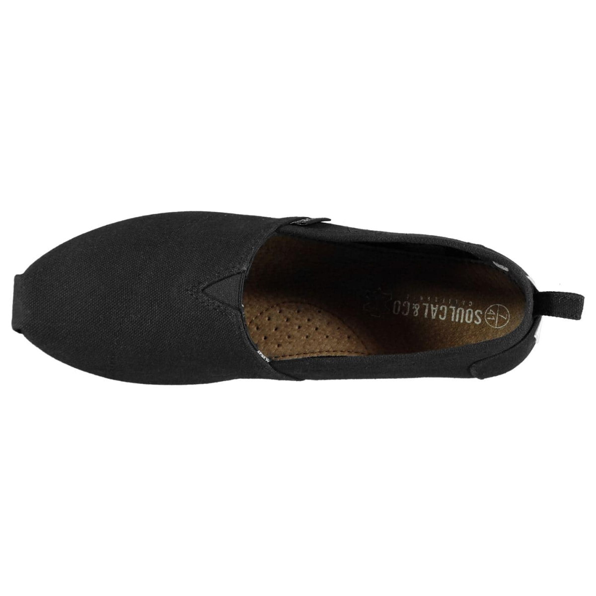 Soulcal Hommes Baskets Chaussures De Course Baskets Trainers toile Slip Ons 6555