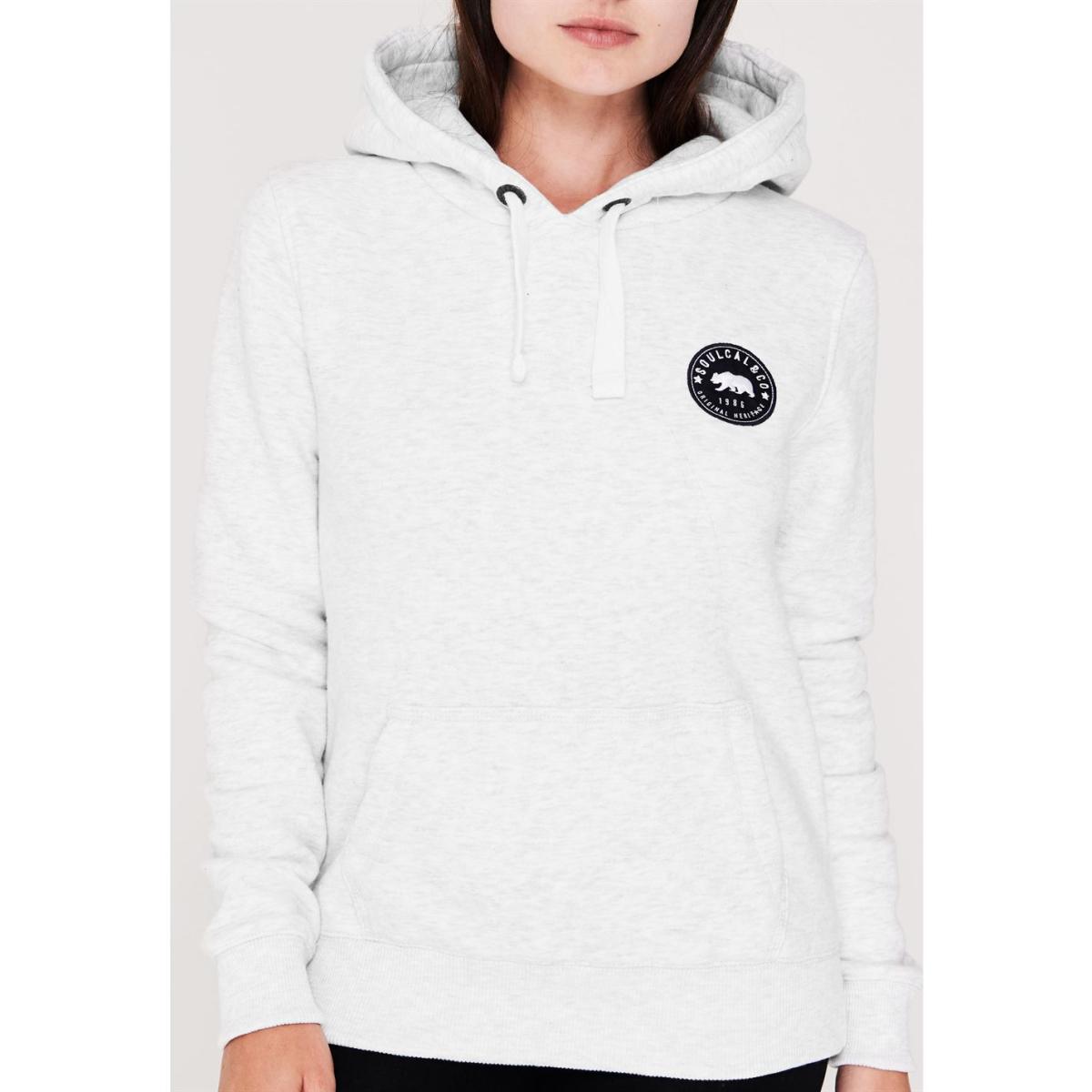 SoulCal Kapuzenjacke Jacke Kapuzenpullover Damen Sweatshirt Pullover 9001