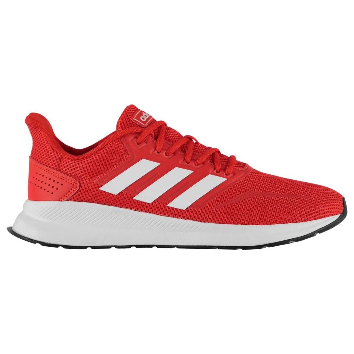 adidas Herren Turnschuhe Falcon Rot_Weiß