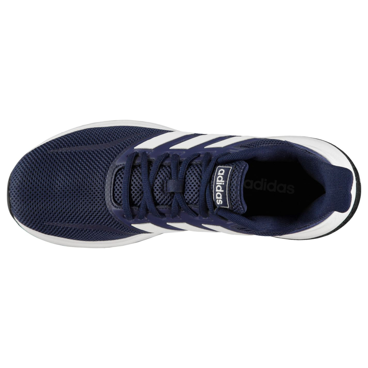 adidas Herren Turnschuhe Falcon Navy_Wht_Wht