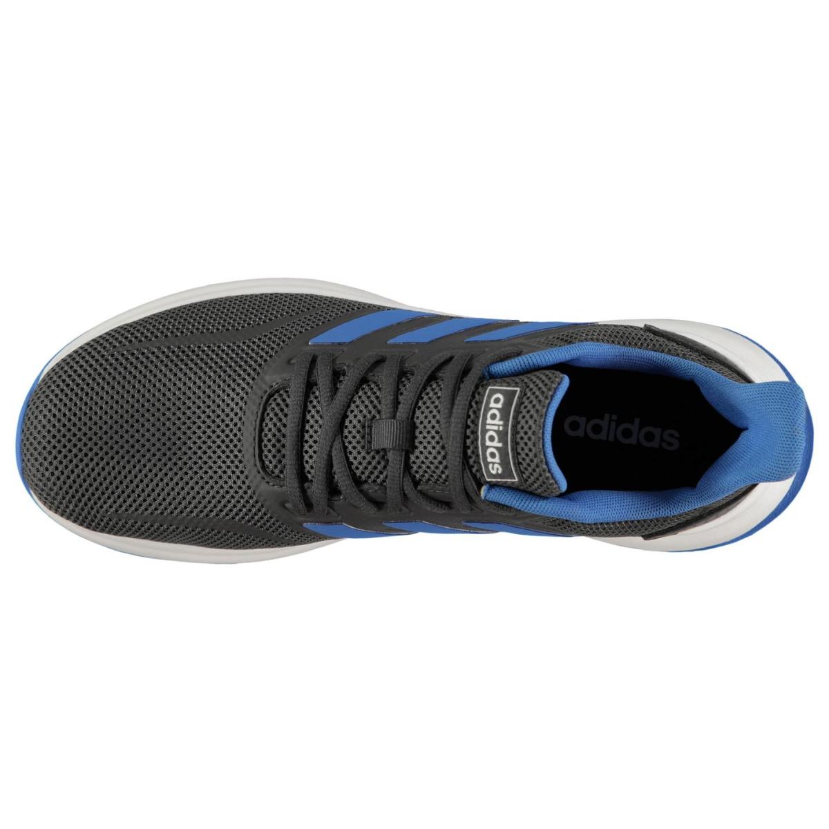 adidas Herren Turnschuhe Falcon DkGrau_Blau_Wht
