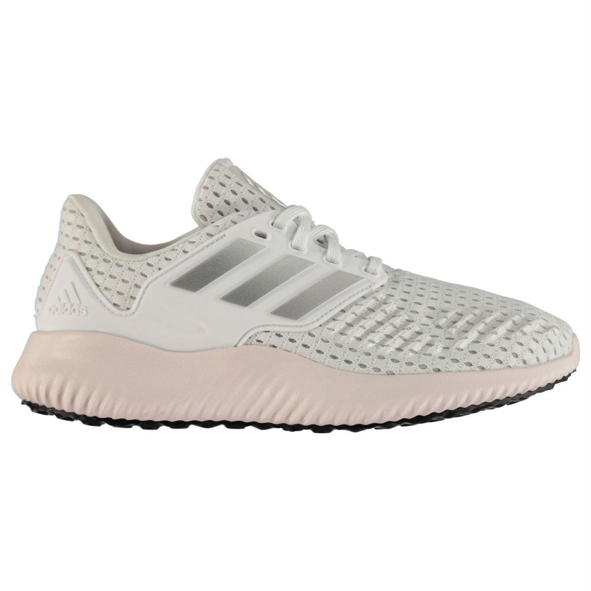 adidas Damen Laufschuhe Alpha Bounce Rc Wht_Silv_Pink