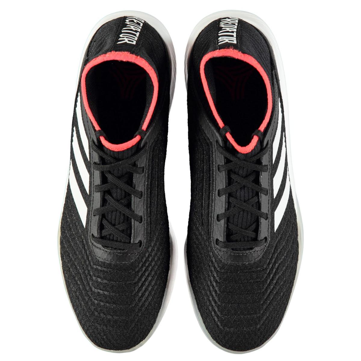 adidas Predator Tango 18.3 Herren Indoor Fußballschuhe Schwarz_Weiß_Rot