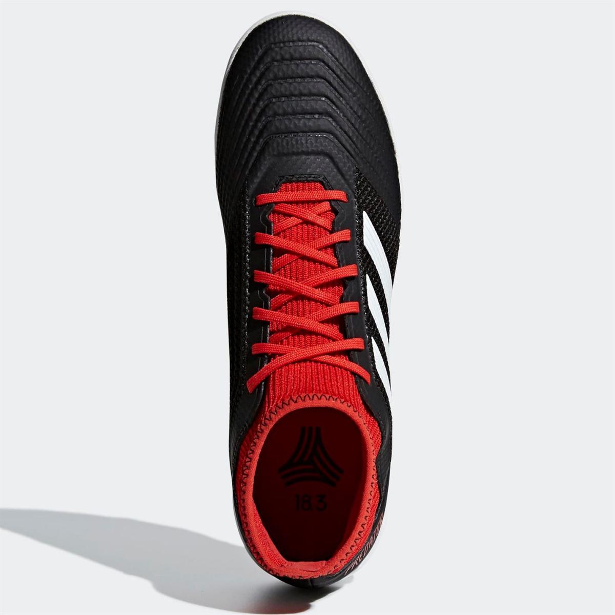 adidas Predator Tango 18.3 Herren AT Astro Turf Kunstrasen Fußballschuhe  Schwarz_Wht_Rot