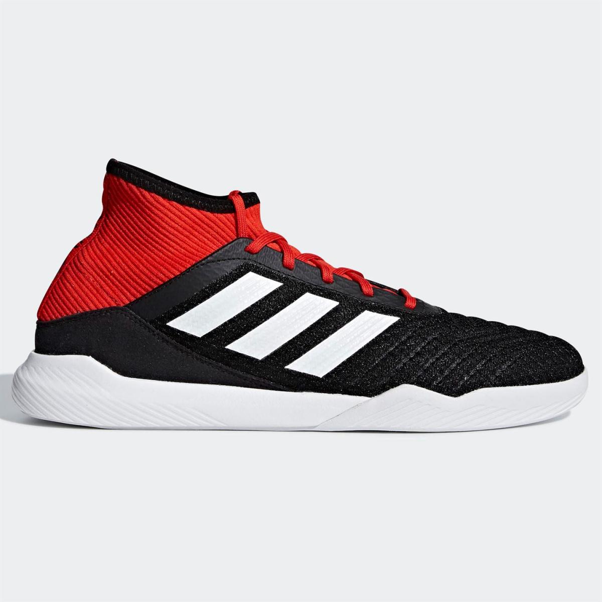 adidas Predator Tango 18.3 Herren Hallenschuhe Schuhe Schwarz_Wht_Rot