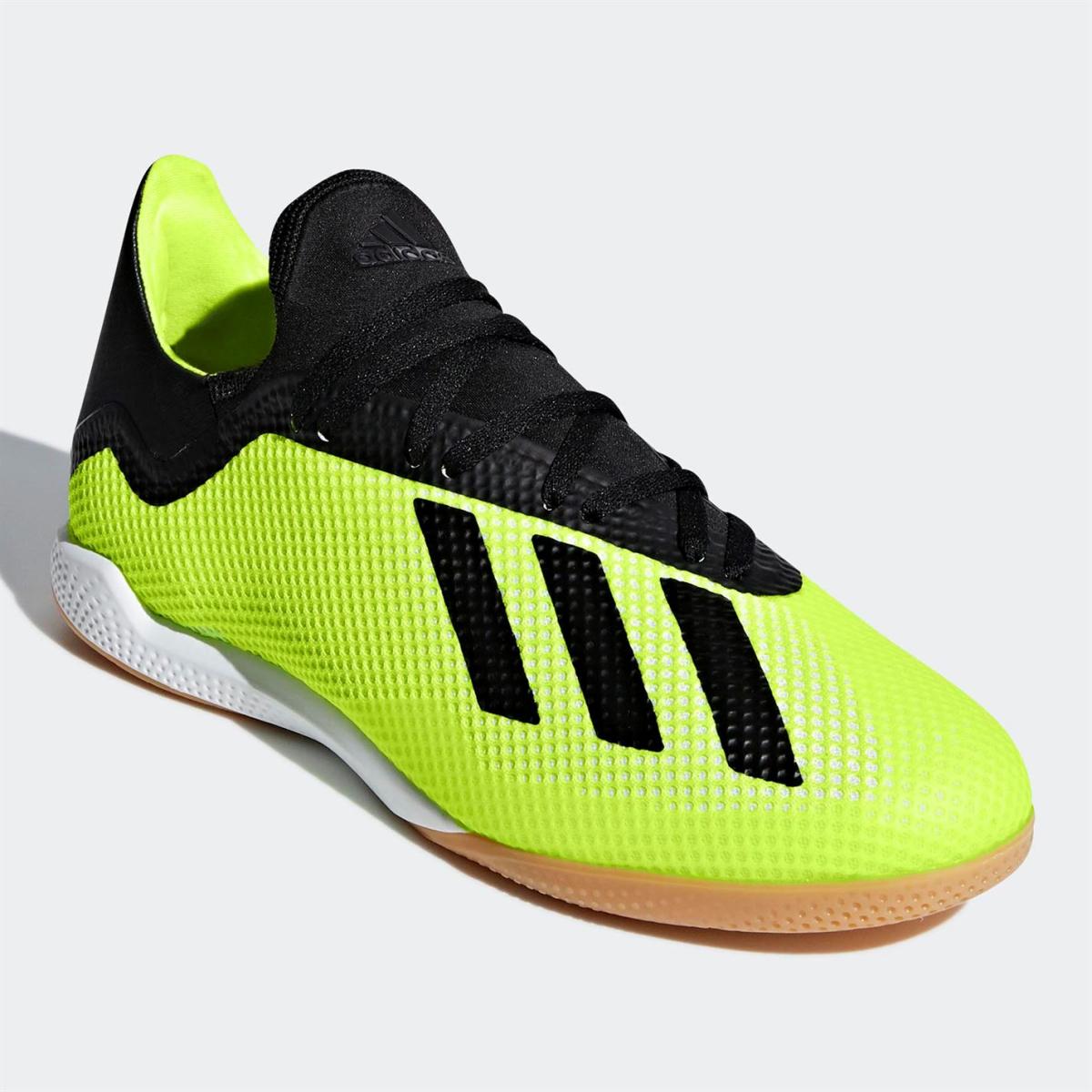 adidas X Tango 18.3 Herren Indoor Fußballschuhe SolarGelb_Blk