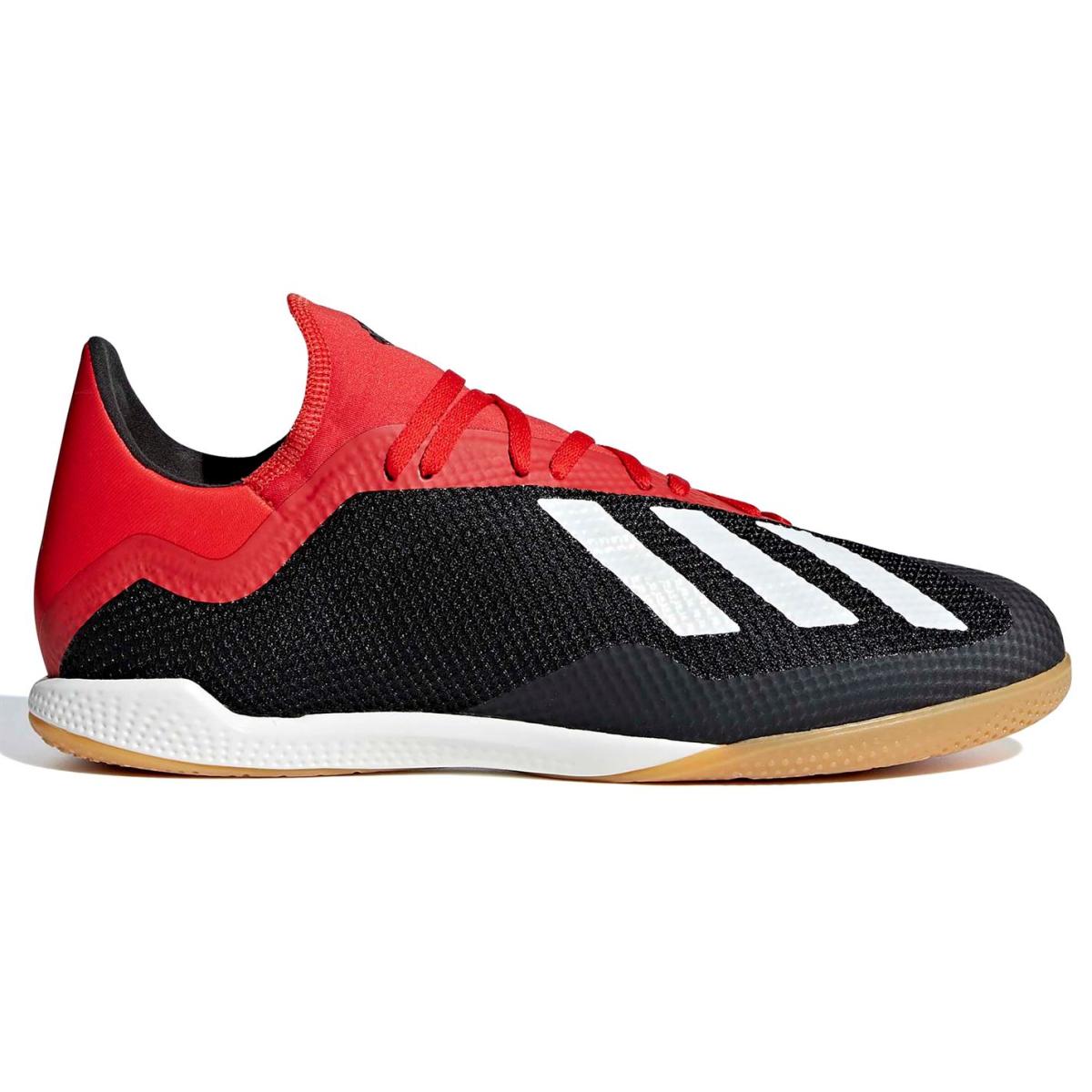 adidas X Tango 18.3 Herren Indoor Fußballschuhe Schwarz_Wht_Rot