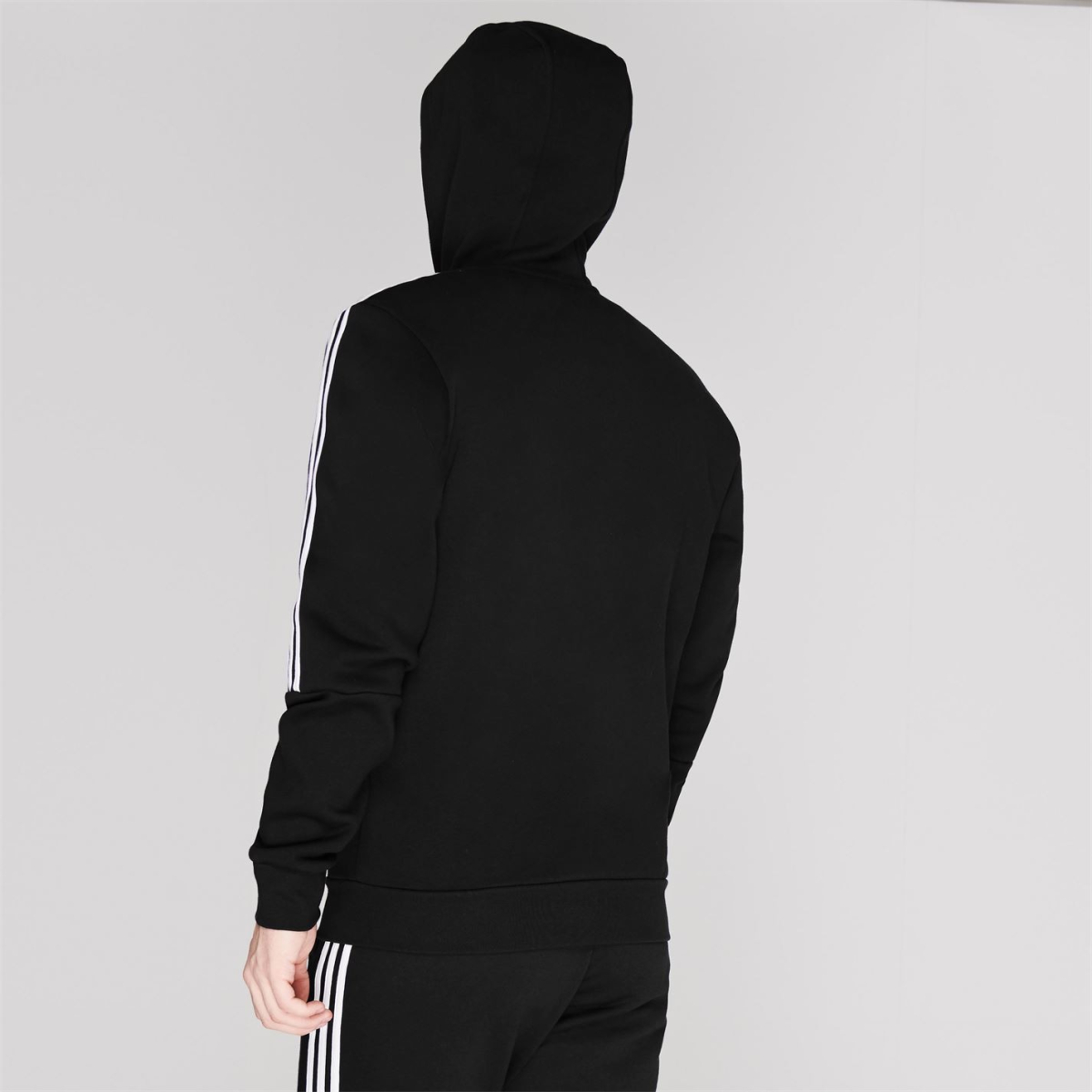 adidas 3 Streifen Kapuzenjacke Jacke Herren Sweatshirt Kapuzenpullover 3033