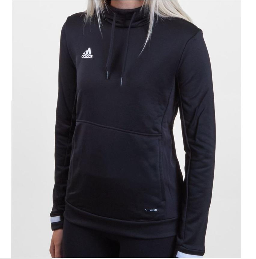 adidas Tiro 19 Kapuzenjacke Jacke Kapuzenpullover Damen Sweatshirt Pullover 0698